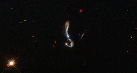 The Lyman-alpha galaxy J082354.96+280621.6